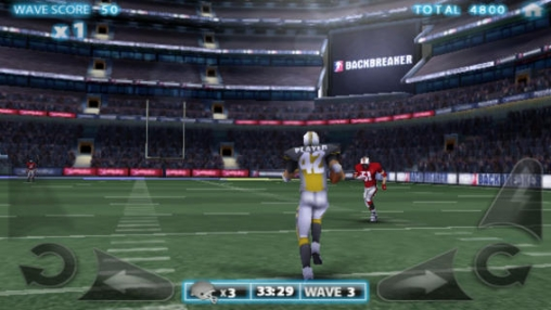 Screenshots vom Spiel Backbreaker Football für iPhone, iPad oder iPod.