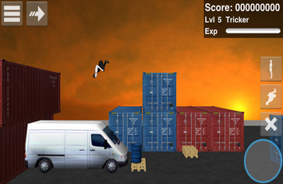 Download Backflip Madness iPhone free game.