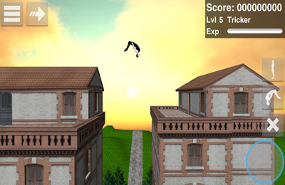 Screenshots of the Backflip Madness game for iPhone, iPad or iPod.