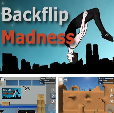 In addition to the game Rope'n'fly 4 for iPhone, iPad or iPod, you can also download Backflip Madness for free.