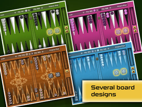 Free Backgammon Gold Premium download for iPhone, iPad and iPod.