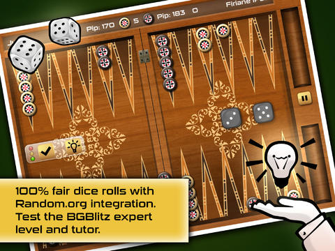 Screenshots of the Backgammon Gold Premium game for iPhone, iPad or iPod.