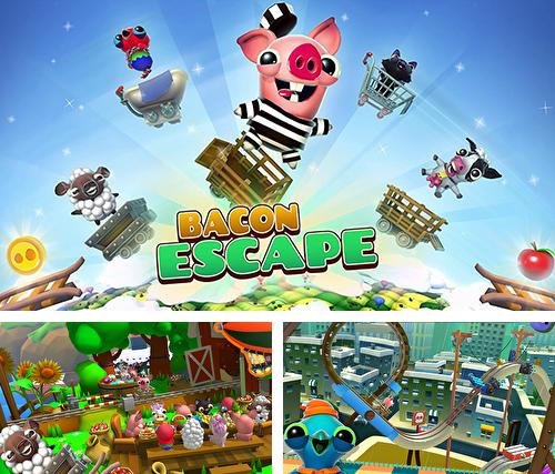 Download Bacon escape iPhone free game.