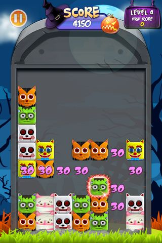 Écrans du jeu Bad cats! pour iPhone, iPad ou iPod.