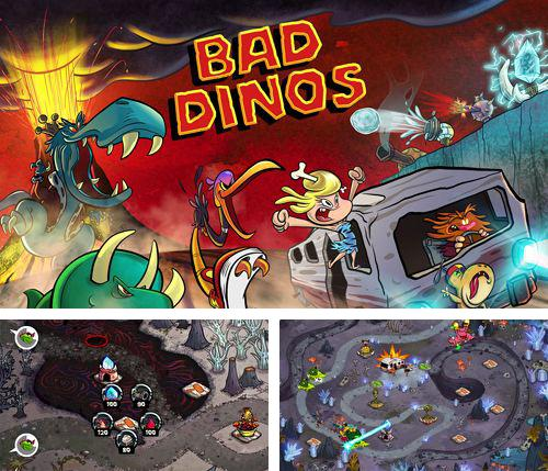 In addition to the game Dalton – The Awesome! for iPhone, iPad or iPod, you can also download Bad dinos for free.