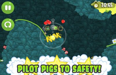 Screenshots do jogo Bad Piggies para iPhone, iPad ou iPod.