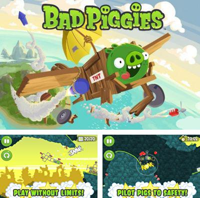 In addition to the game Zombies: Dead in 20 for iPhone, iPad or iPod, you can also download Bad Piggies for free.