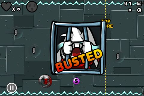 Capturas de pantalla del juego Bad rabbit para iPhone, iPad o iPod.