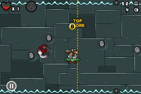 Screenshots vom Spiel Bad rabbit für iPhone, iPad oder iPod.