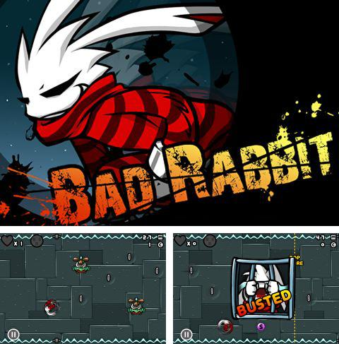 In addition to the game Cava racing for iPhone, iPad or iPod, you can also download Bad rabbit for free.
