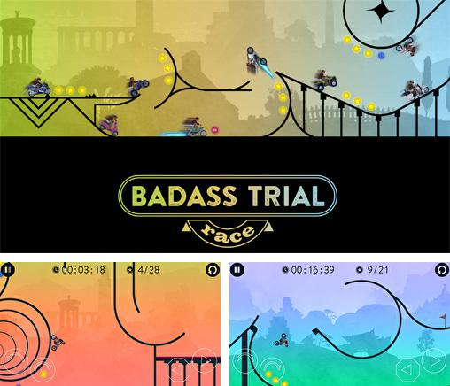 Download Badass trial race iPhone free game.