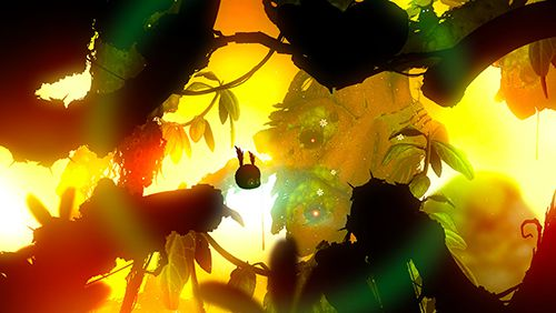 Capturas de pantalla del juego Badland 2 para iPhone, iPad o iPod.