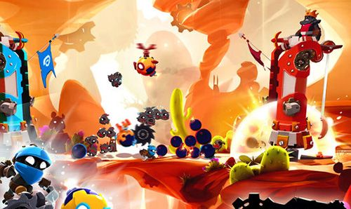Download Badland: Brawl iPhone free game.