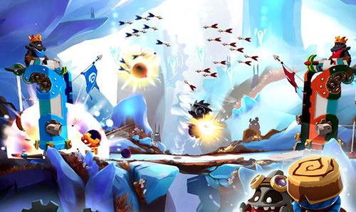 Screenshots of the Badland: Brawl game for iPhone, iPad or iPod.