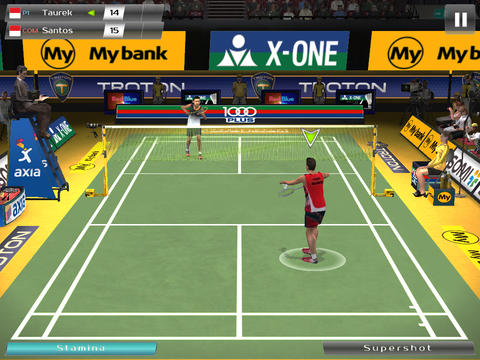 Free Badminton: Jump Smash download for iPhone, iPad and iPod.