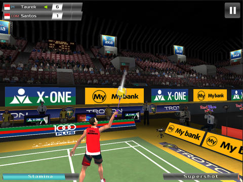 Screenshots of the Badminton: Jump Smash game for iPhone, iPad or iPod.