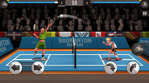 Screenshots vom Spiel Badminton league für iPhone, iPad oder iPod.