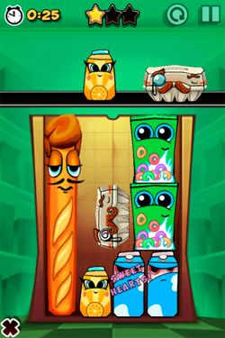Capturas de pantalla del juego Bag it! para iPhone, iPad o iPod.