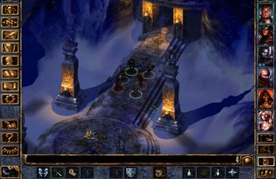 Screenshots vom Spiel Baldur's Gate: Enhanced Edition für iPhone, iPad oder iPod.