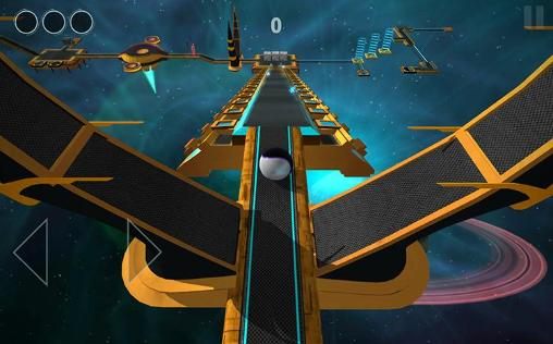 Screenshots of the Ball alien game for iPhone, iPad or iPod.