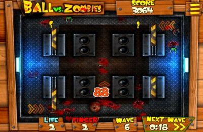 Игра Ball vs. Zombies для iPhone