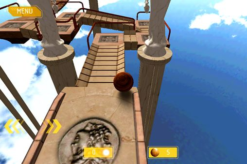 Capturas de pantalla del juego Ballance: Resurrection para iPhone, iPad o iPod.