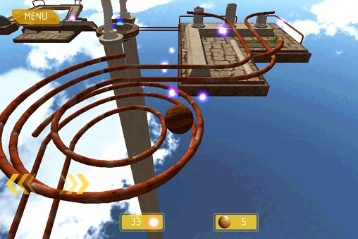 Screenshots vom Spiel Ballance: Resurrection für iPhone, iPad oder iPod.