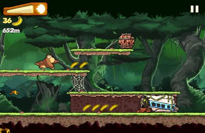 Descarga gratuita de Banana Kong para iPhone, iPad y iPod.