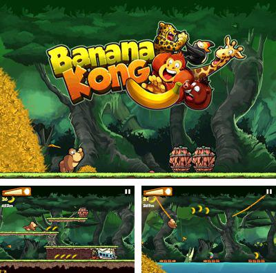 In addition to the game Wonder zoo for iPhone, iPad or iPod, you can also download Banana Kong for free.