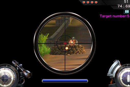 Capturas de pantalla del juego Band of brothers: Deadly sniper para iPhone, iPad o iPod.