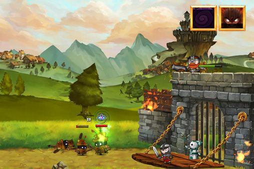 Capturas de pantalla del juego Band of heroes para iPhone, iPad o iPod.