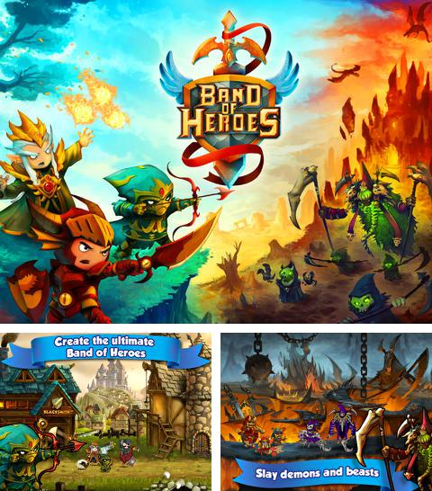 En plus du jeu Ailes noires 2: Galaxie pour iPhone, iPad ou iPod, vous pouvez aussi télécharger gratuitement L'Equipe des Héros:La Bataille pour le Royaume, Band of Heroes: Battle for Kingdoms.