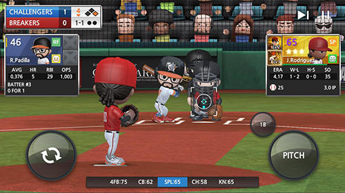 Screenshots do jogo Baseball 9 para iPhone, iPad ou iPod.