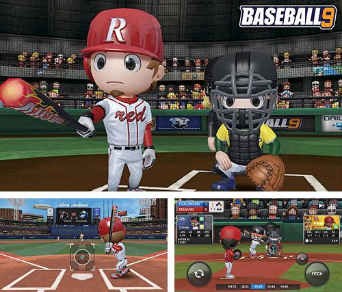 In addition to the game Jump! Man for iPhone, iPad or iPod, you can also download Baseball 9 for free.