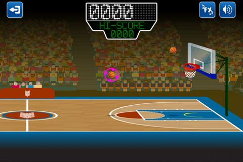 Écrans du jeu Basketmania: All stars pour iPhone, iPad ou iPod.