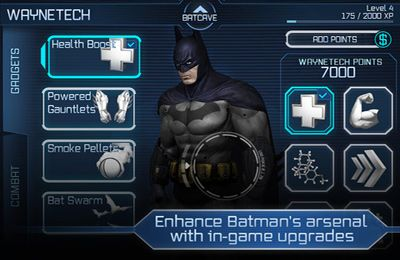 Download Batman Arkham City Lockdown iPhone free game.