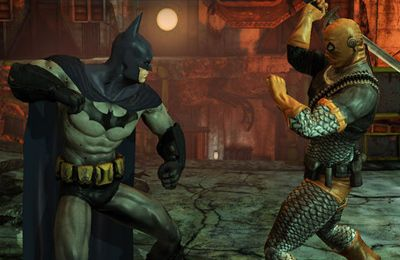 Screenshots of the Batman Arkham City Lockdown game for iPhone, iPad or iPod.