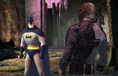 Screenshots vom Spiel Batman Arkham City Lockdown für iPhone, iPad oder iPod.
