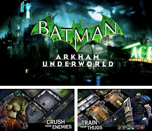 En plus du jeu Toby : La mine secrète  pour iPhone, iPad ou iPod, vous pouvez aussi télécharger gratuitement Batman: Monde criminel d'Arkham , Batman: Arkham underworld.