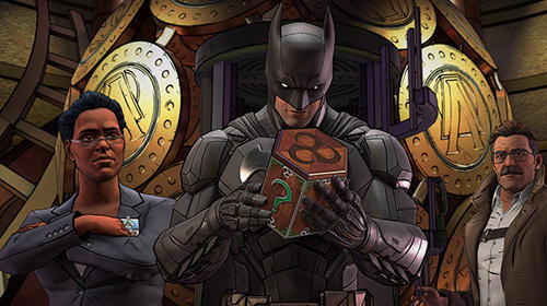 Descarga gratuita de Batman: The enemy within para iPhone, iPad y iPod.