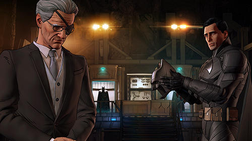Capturas de pantalla del juego Batman: The enemy within para iPhone, iPad o iPod.