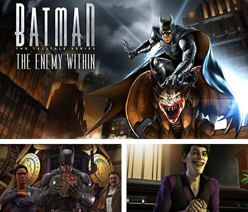 Download Batman: The enemy within iPhone free game.