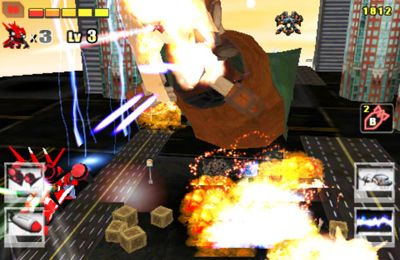 Screenshots of the Battle3D 2: Iron Punch game for iPhone, iPad or iPod.