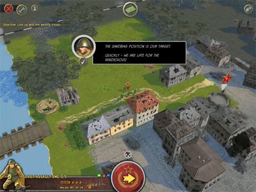 Screenshots vom Spiel Battle academy 2: Eastern front für iPhone, iPad oder iPod.
