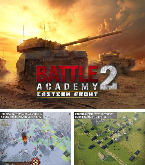 In addition to the game Green lantern: Rise of the manhunters for iPhone, iPad or iPod, you can also download Battle academy 2: Eastern front for free.