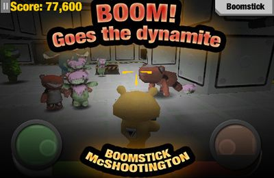 Screenshots of the BATTLE BEARS -1 game for iPhone, iPad or iPod.