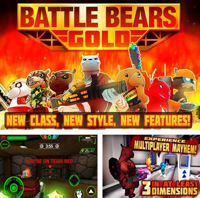 In addition to the game Froggy Splash for iPhone, iPad or iPod, you can also download Battle Bears Gold for free.