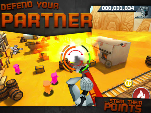 Capturas de pantalla del juego Battle Bears Zero para iPhone, iPad o iPod.