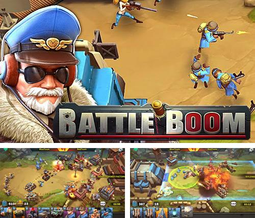 In addition to the game Sunny Hillride for iPhone, iPad or iPod, you can also download Battle boom for free.