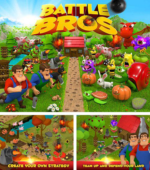 In addition to the game Stairs for iPhone, iPad or iPod, you can also download Battle bros for free.